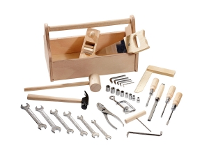 Wooden kids tool box 4901