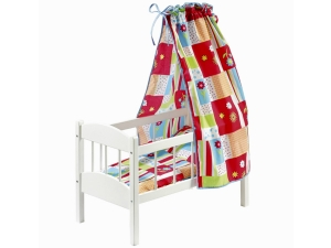 Dolls bed Flower power 2130