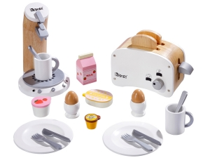 Breakfast Set white 4856