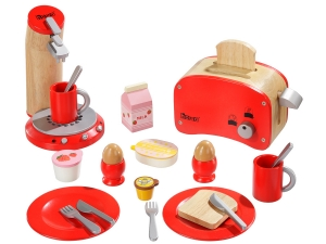 Breakfast Set red 48562