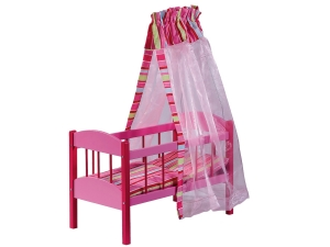 Dolls bed Stripes 2120