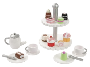Wooden Coffeeset / Teeset 20 parts 4866