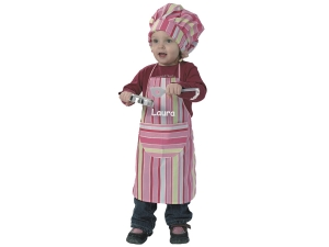 Cap and apron 1001 - personalized