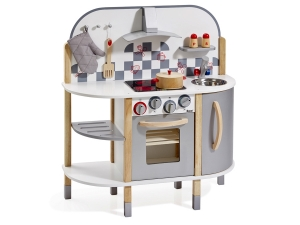 Toy kitchen with 5 accessories 4818