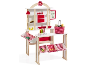 Toy shop with basket 4751