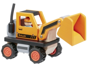Wooden Bulldozer 5901