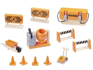 Wooden Construction Set 12 pcs. 5905
